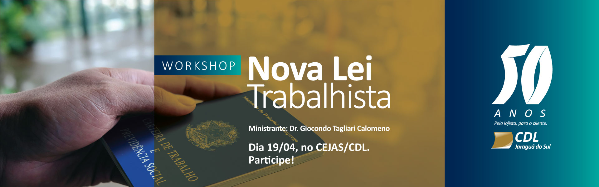 Workshop Nova Lei Trabalhista