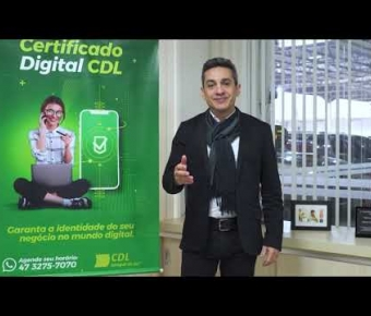 Certificado Digital é na CDL Jaraguá do Sul