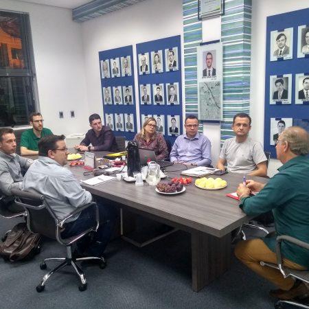 Reunião mensal da Diretoria CDL