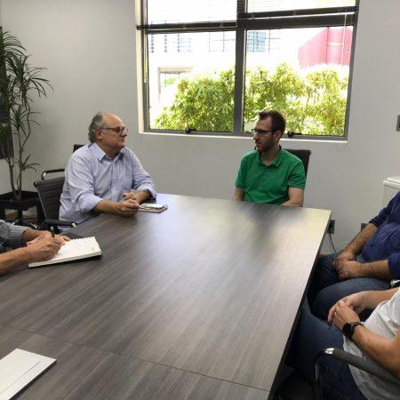 CDL Jaraguá do Sul recebe Deputado Estadual Vicente Caropreso