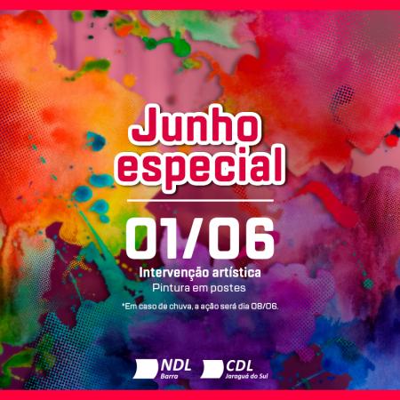 CDL Jaraguá do Sul promove em parceria com a SCAR ação artística na Barra do Rio Cerro