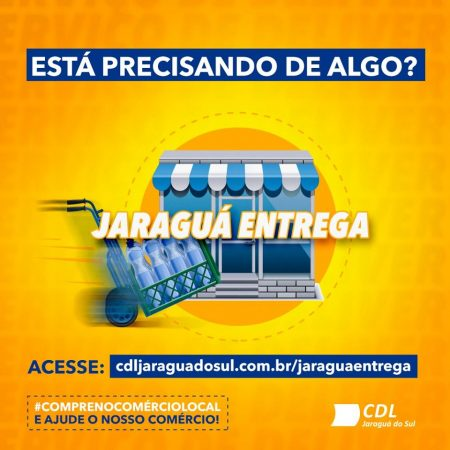 CDL lança a plataforma de delivery Jaraguá Entrega